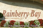 Rainberry Bay community sign