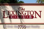 Lexington Club community sign